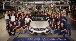 Producţie record la uzina Mercedes de la Kecskemét