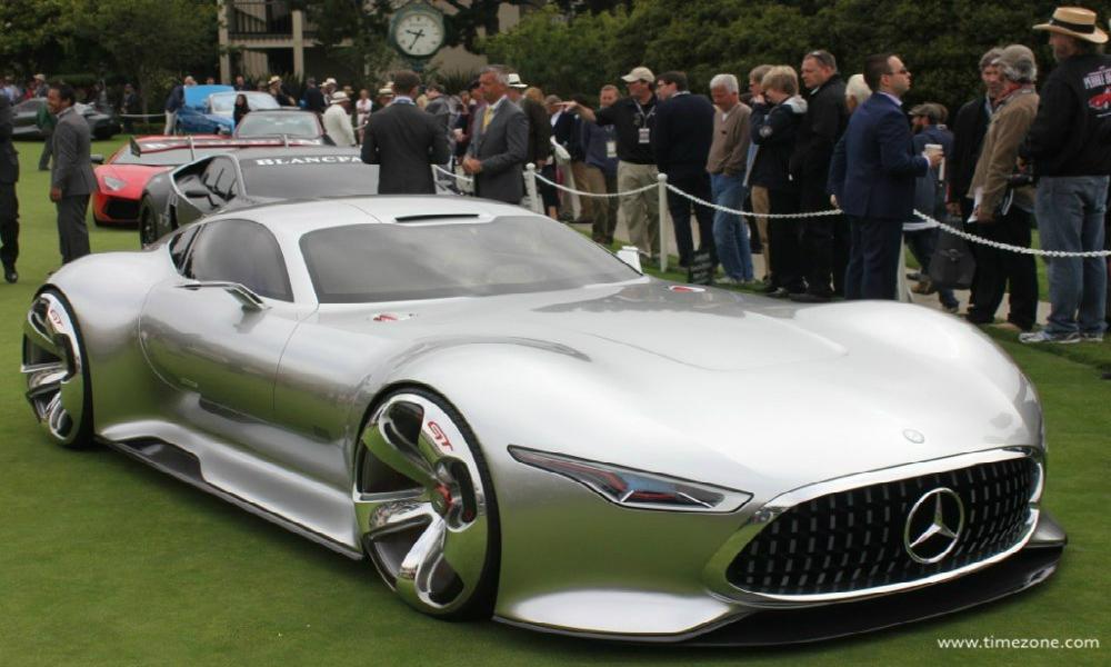 Mercedes AMG Vision Gran Turismo: Un OZN a aterizat în California