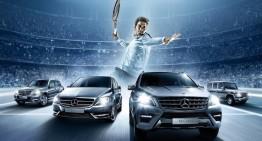 Federer joacă dublu în afara terenului de tenis