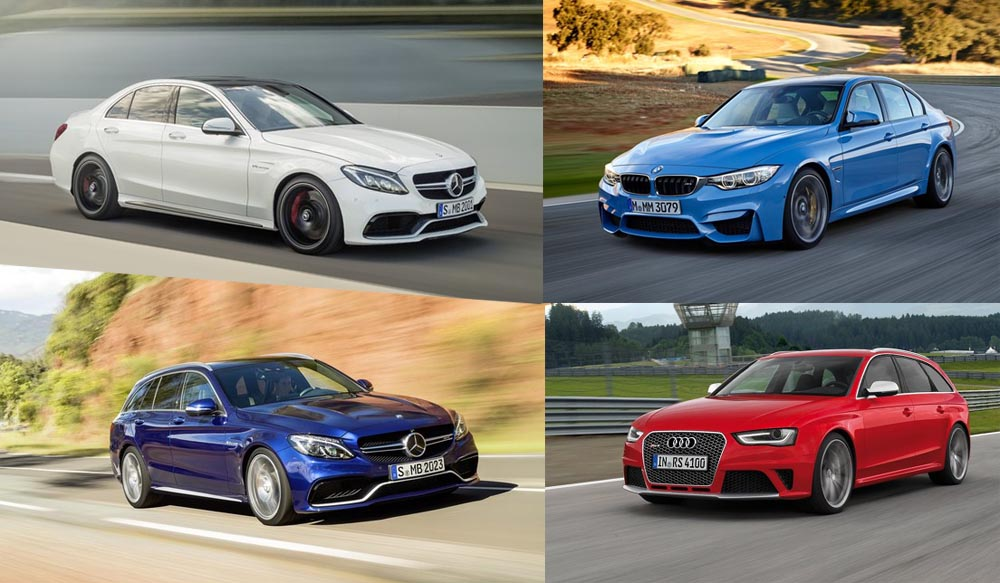 Mercedes-AMG C63 vs BMW M3 vs Audi RS4 - mercedesblog