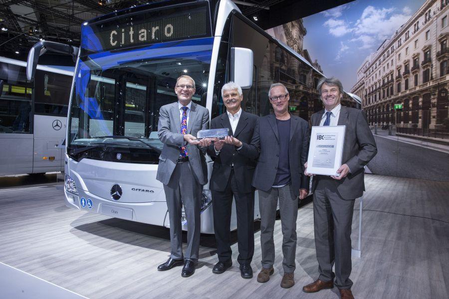 Mercedes-Benz Citaro este Autobuzul anului 2014
