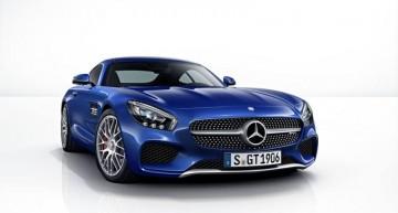 Mercedes-Benz AMG GT şi paleta sa de culori