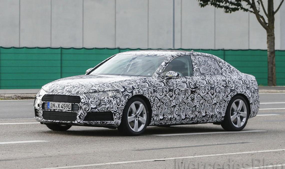 Primele poze spion cu viitorul Audi A4, rivalul Clasei C