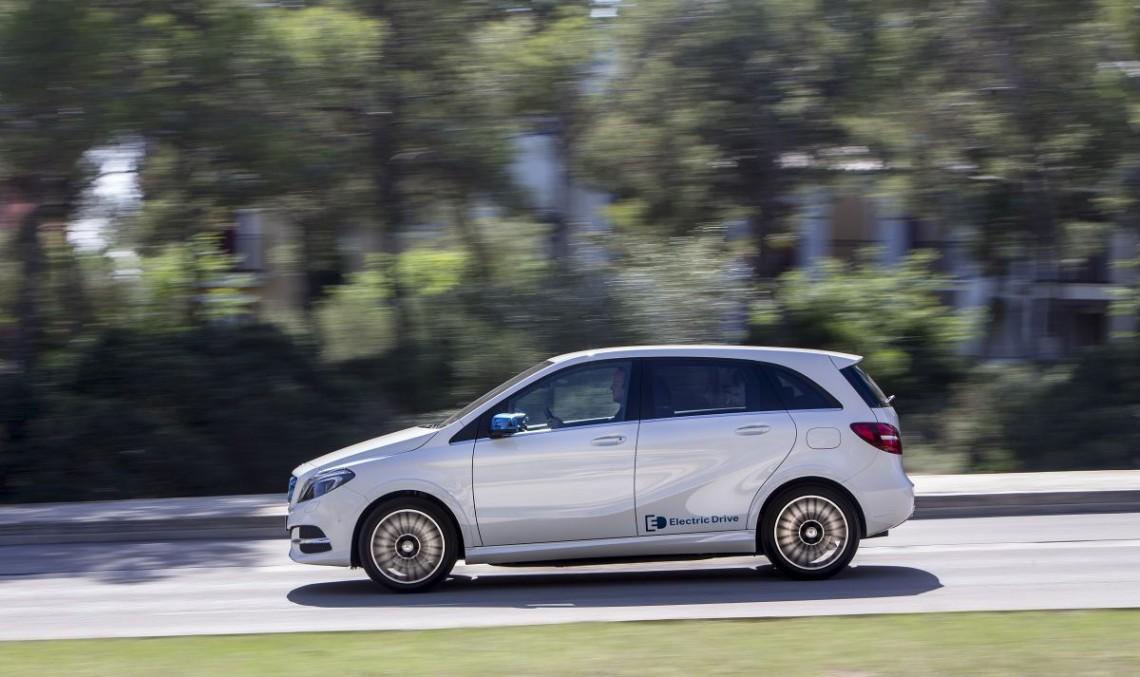 Primul test drive Mercedes Clasa B Electric Drive