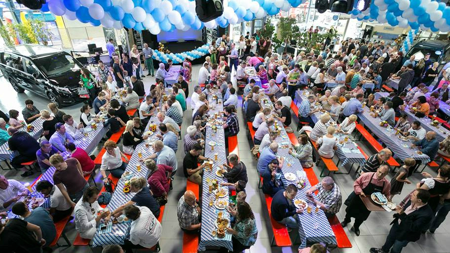 Mercedes-Benz Oktoberfest – Party în stil nemțesc