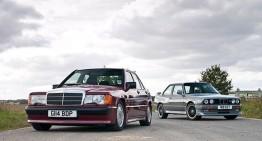 Mercedes-Benz 190E 2.5–16 vs BMW M3 E30