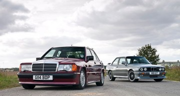 Mercedes-Benz 190E 2.5–16 vs BMW M3 E30