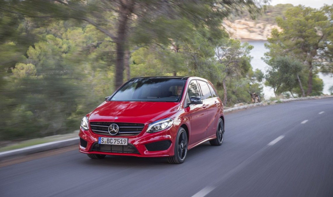 Exclusiv: primul test drive Mercedes B-Class facelift