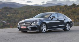 Test cu Mercedes-Benz CLS 350 CDI BlueTec facelift