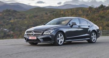 Test cu Mercedes-Benz CLS 350 CDI BlueTec facelift