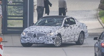 Primele imagini cu viitorul Mercedes-Benz E-Class