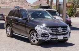 Mercedes-Benz ML facelift și o nouă versiune Plug-in Hybrid