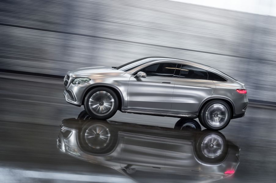 Mercedes-Benz Concept Coupé SUV
