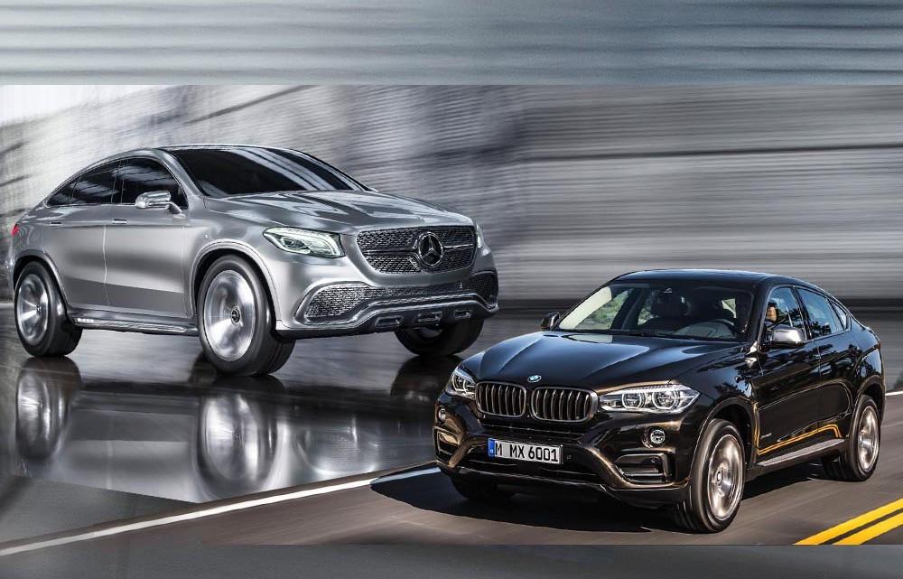 BMW X6 2015 va avea un rival: Mercedes-Benz MLC