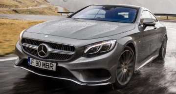 VIDEO: Test pe Transfăgărășan cu Mercedes-Benz S-Class Coupe