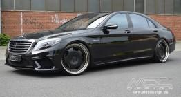 Oficial: Mercedes-Benz S 63 AMG realizat de MEC Design