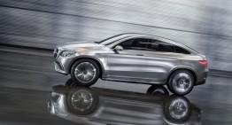Mercedes-Benz Concept Coupe SUV: un X6 mai bun