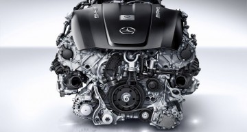 510 CP pentru noul motor biturbo AMG V8 de 4 litri