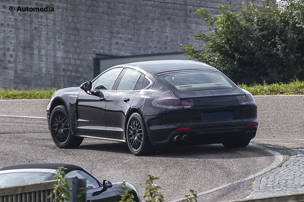 A doua generație Porsche Panamera în teste (emoții pentru CLS?…)