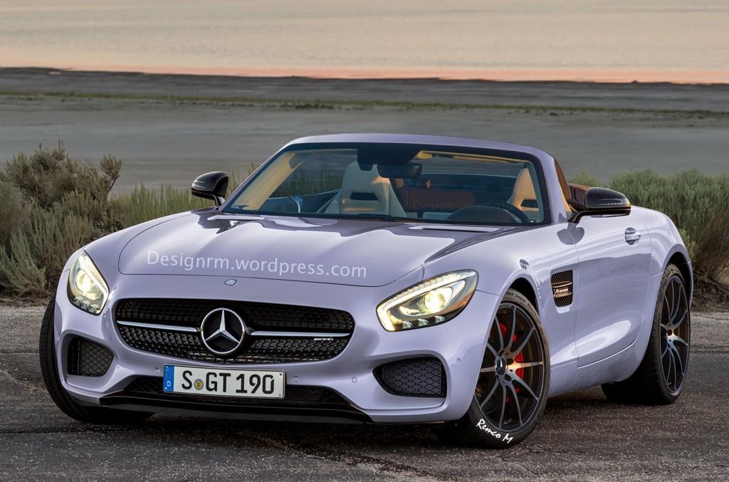 Mercedes-AMG GT Roadster își va face apariția până la sfârșitul anului!