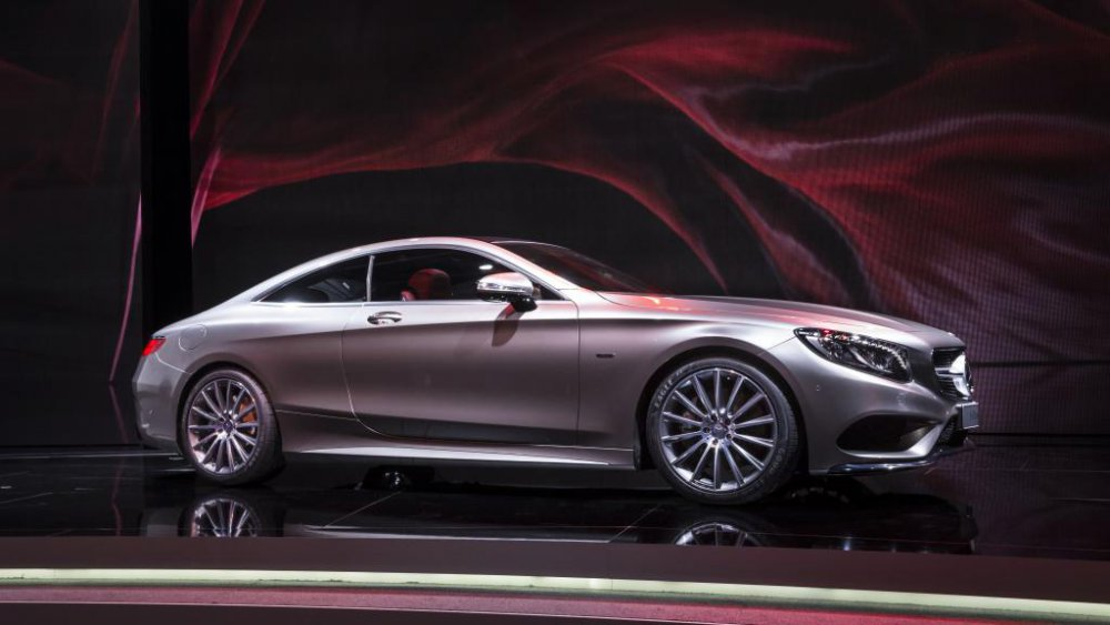The Mercedes-Benz S-Class Coupe