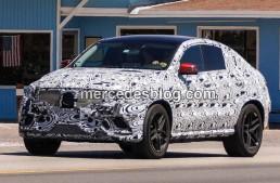 Viitorul Mercedes-Benz MLC surprins pe stradă