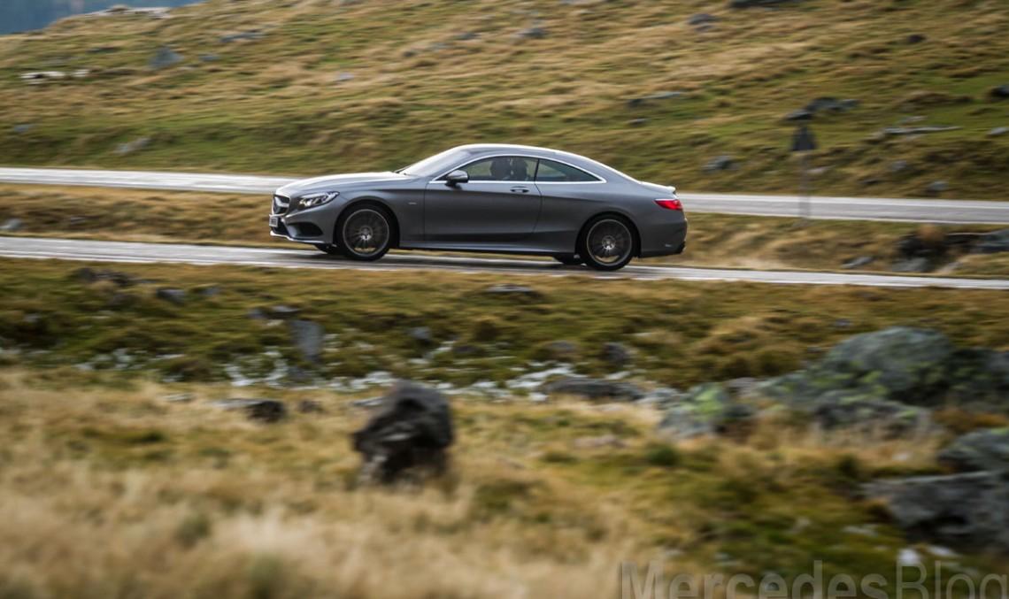 Primul test Mercedes S 500 4Matic Coupe