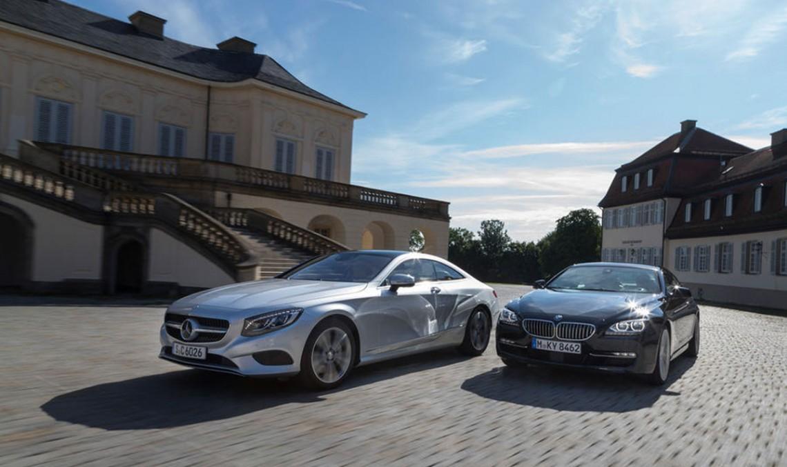 Mercedes-Benz S-Class Coupe față în față cu BMW Seria 6