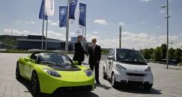 Daimler a vândut participația la Tesla