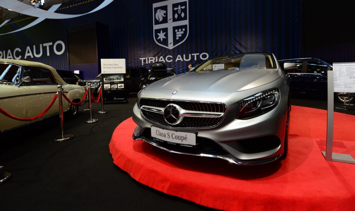 Țiriac Auto prezintă peste 40 de modele la SAB 2014