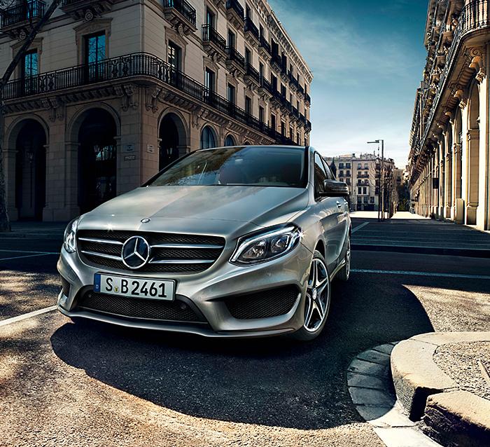Mercedes-Benz Clasa B: B vine de la bebeluș