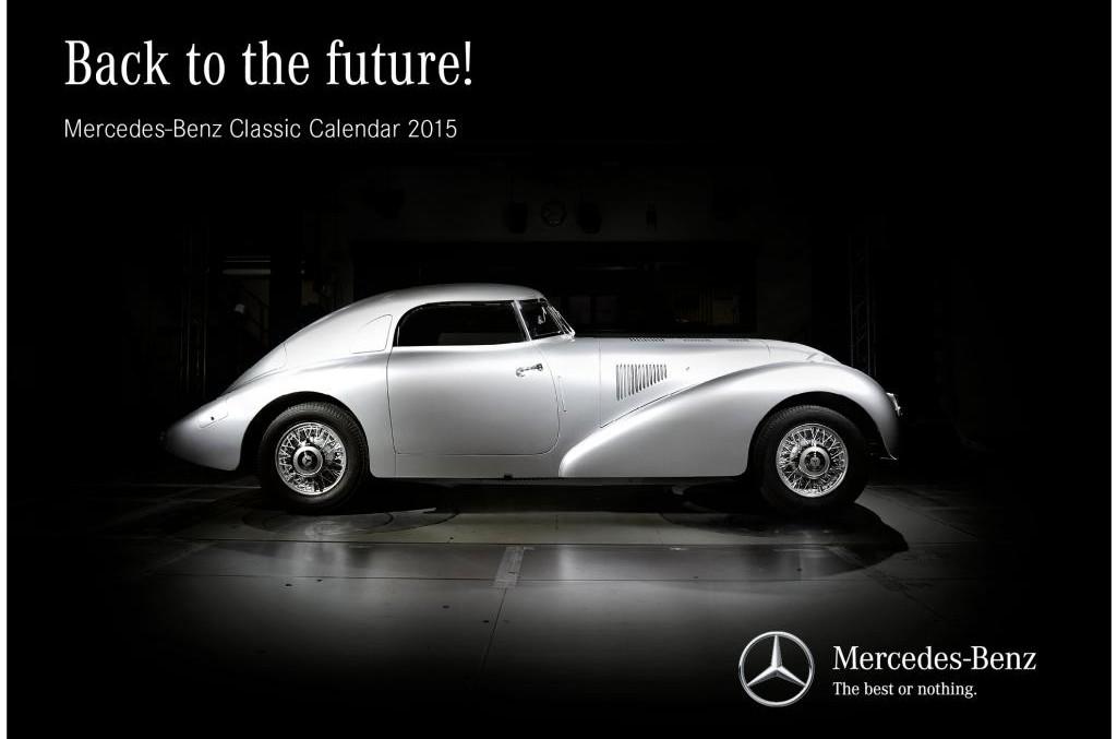 Calendare Mercedes 2015: Un Mercedes pe lună