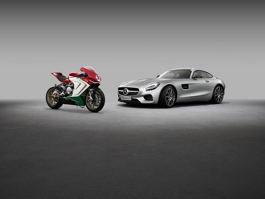 Mercedes-AMG cumpără 25% din MV Agusta