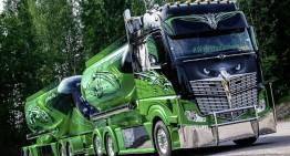 """Un Mercedes-Benz Actros a câștigat """"Nordic Trophy 2014"""""""
