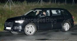 Audi Q7 la Salonul Auto de la Detroit cu câteva luni înaintea ML facelift
