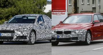 Noul Audi A4 și BMW Seria 3 facelift: Rivalii C-Class