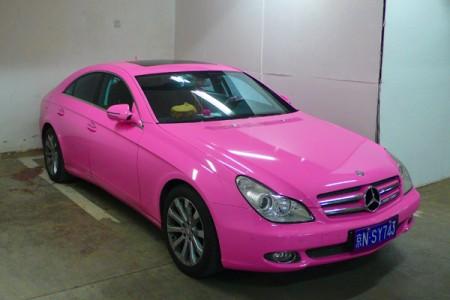 Mercedes roz