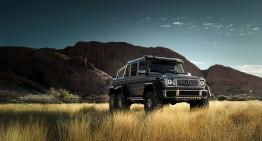 Mercedes G 63 AMG 6X6: Gulliver în țara piticilor