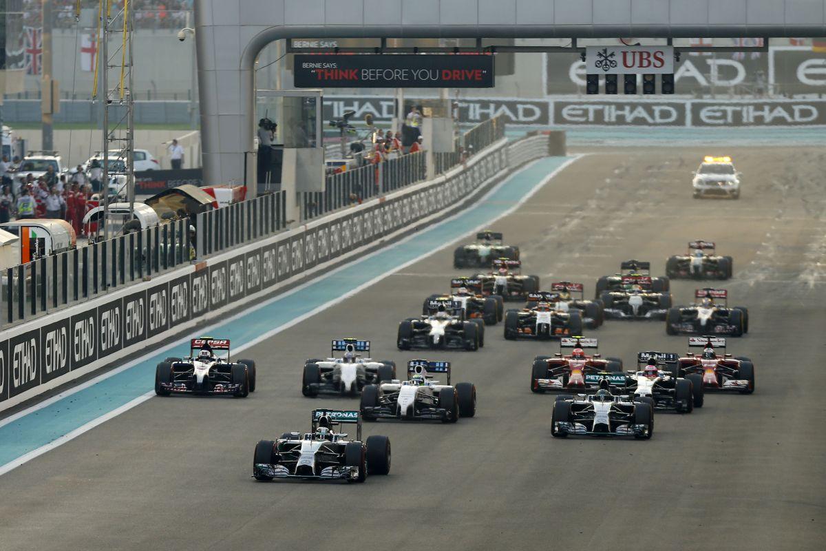 GP F1 Abu Dhabi 2