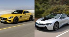 Un nou rival pentru Mercedes AMG GT: BMW i8s