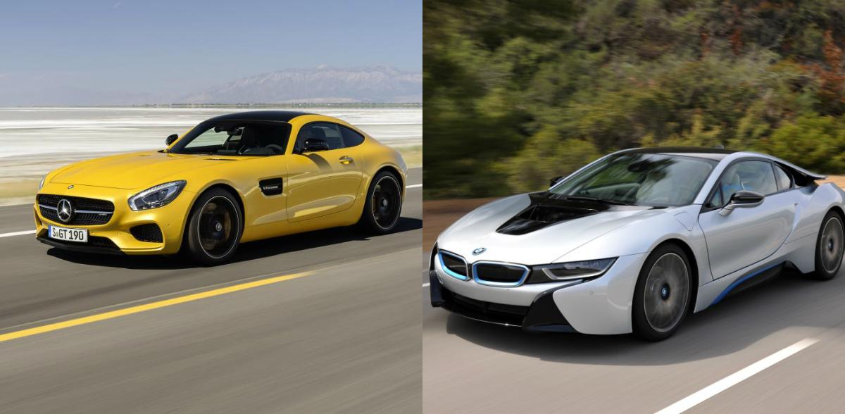 Un Nou Rival Pentru Mercedes Amg Gt Bmw I8s Mercedesblog Ro