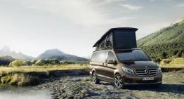 Noul V-Class Marco Polo: biroul din aer liber