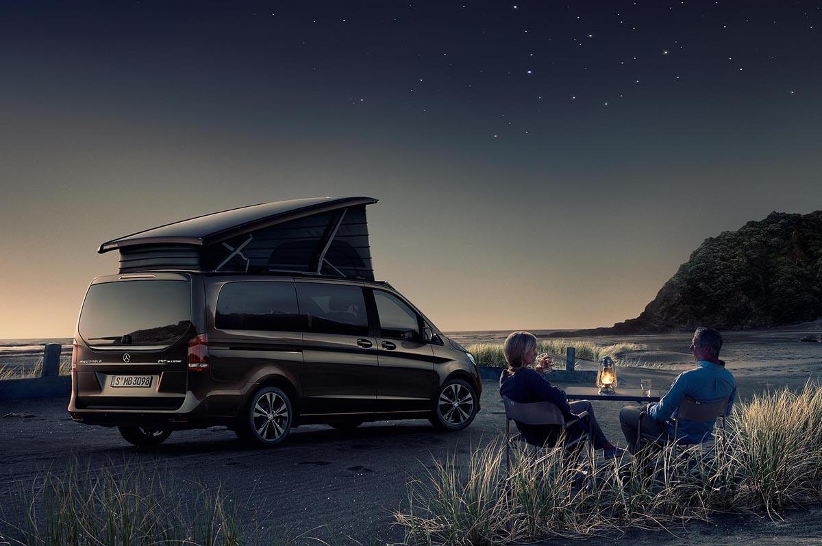 De 1 Mai La Camping Cu Mercedes Benz Marco Polo