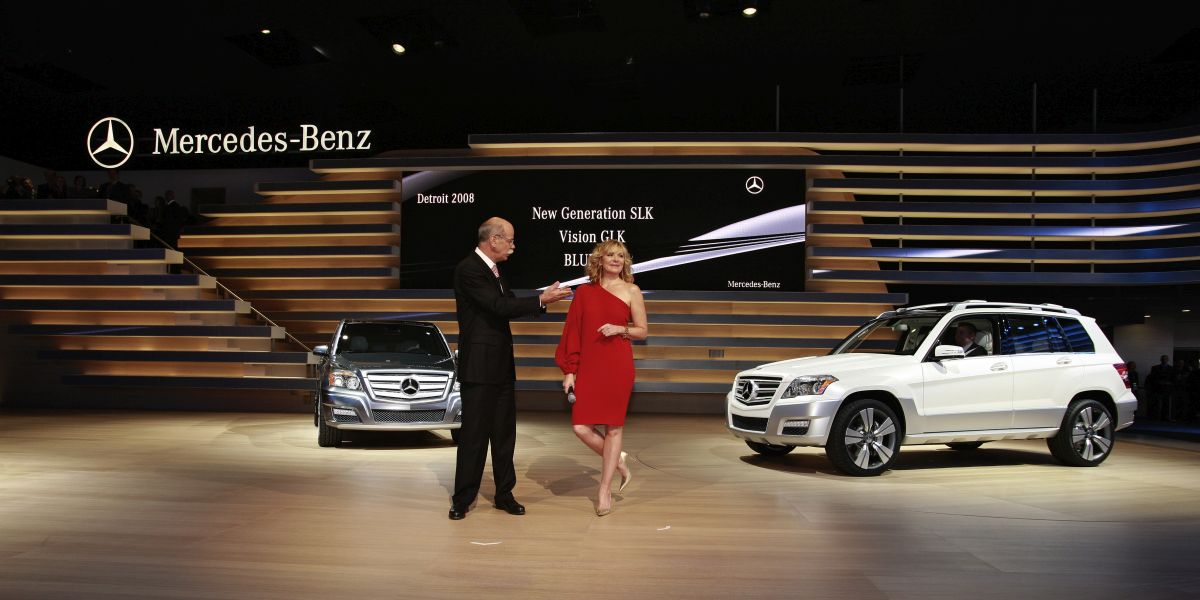 NAIAS 2008, Mercedes-Benz Press Conference