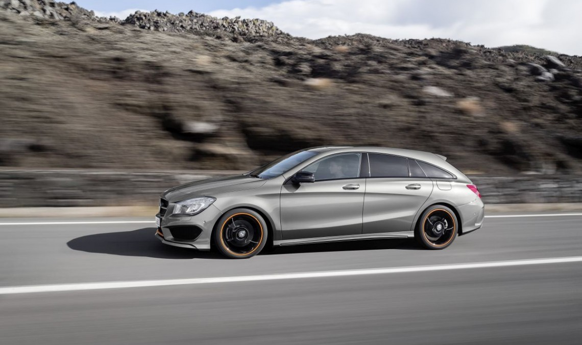 Mercedes CLA Shooting Brake: Aproape la fel de mare ca C-Class T-Model