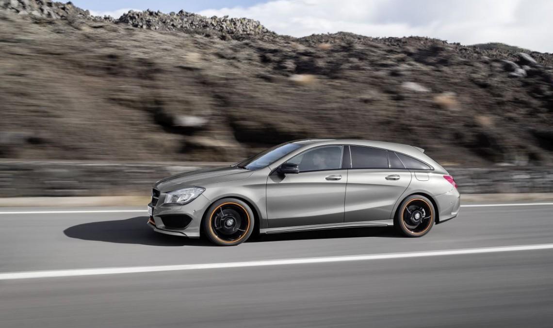 Mercedes CLA Shooting Brake: Aproape la fel de mare ca C-Class T-Model