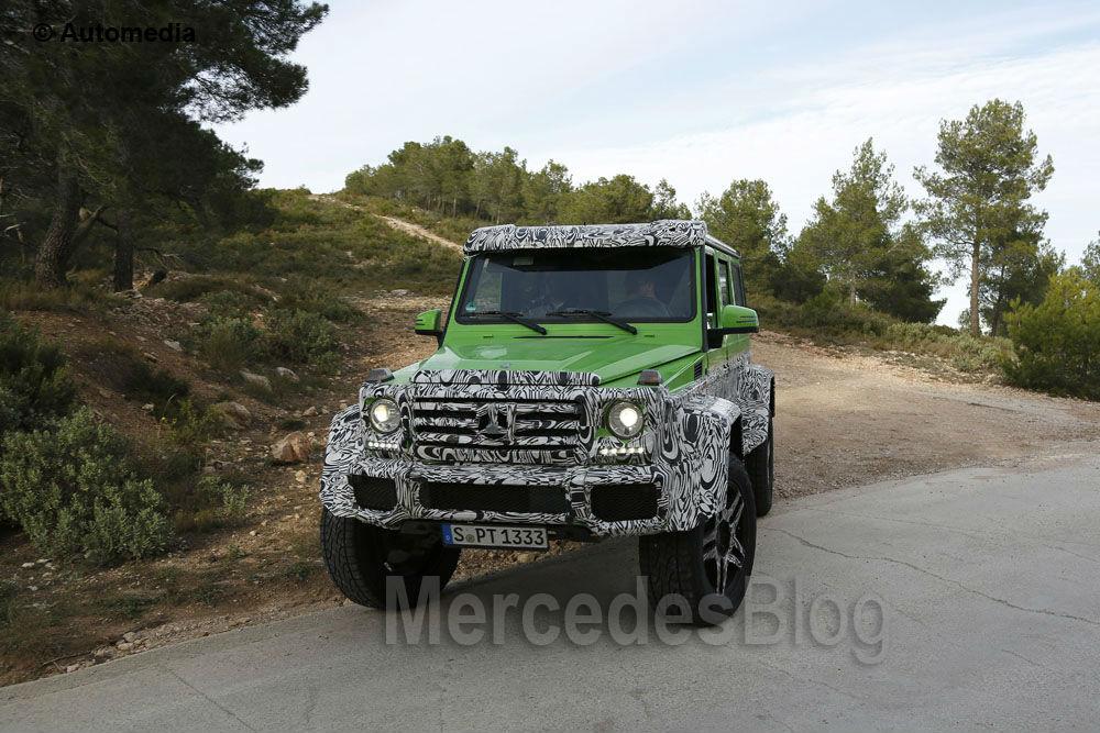 Mercedes G 63 AMG 4×4 Green Monster