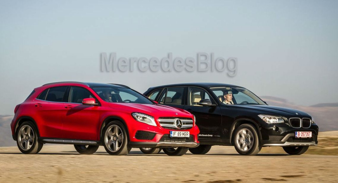 Test comparativ Mercedes GLA vs BMW X1