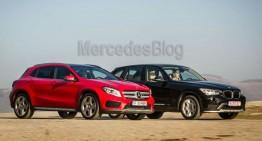 Test comparativ Mercedes GLA vs BMW X1