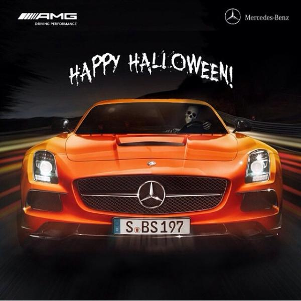 Halloween fericit alături de Mercedes-Benz!